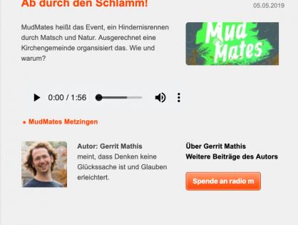 Ab durch den Schlamm! MudMates auf Radio M