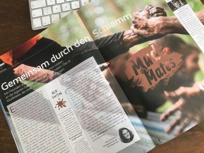 MudMates im AOK Magazin